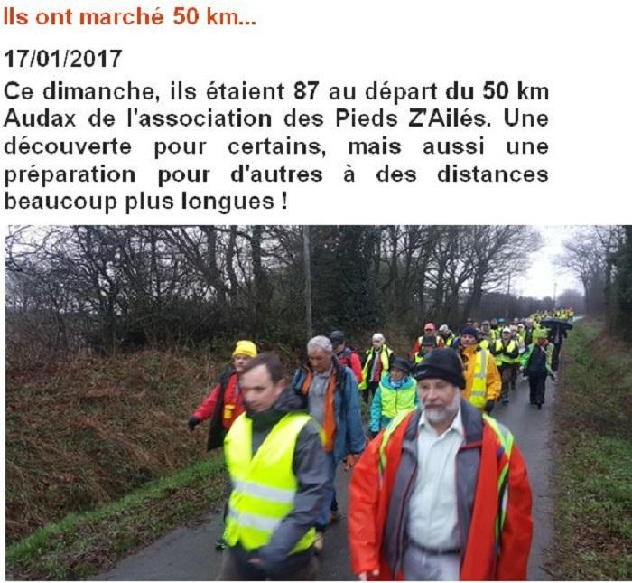 50 km Audax
